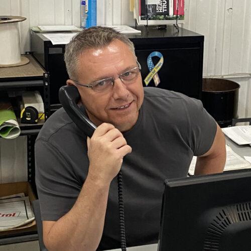 Mitch Bittenbender, Hodges Westside Truck Center Parts Manager