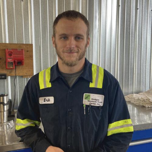 Erik Sullivan, Hodges Westside Truck Center Technician and Fabricator