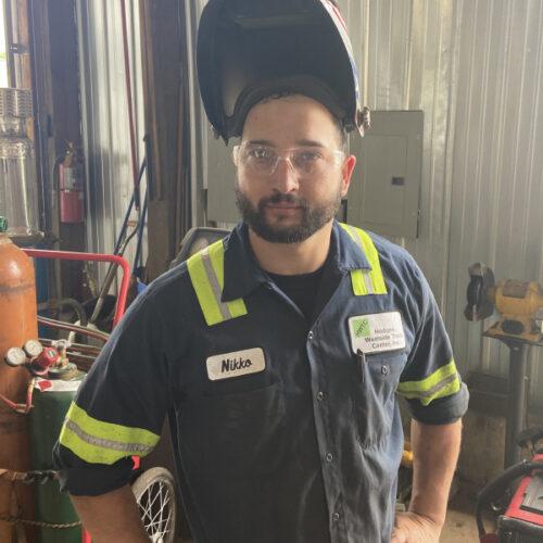 Nikko Laudicina, Hodges Westside Truck Center Technician and Lead Fabricator