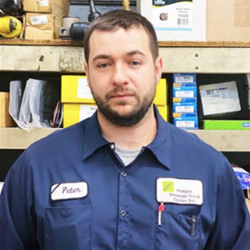 Peter Barrios, Hodges Westside Truck Center Technician